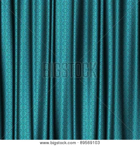 Curtain Lace Generated Texture