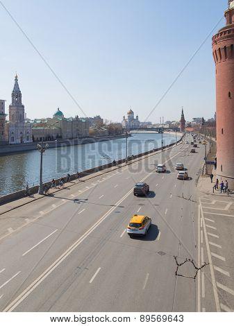 Early Spring On The Kremlin Embankment
