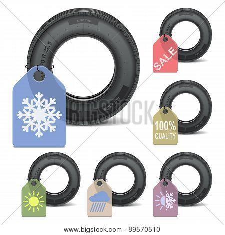 Vector Season Tire Sale