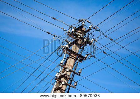 Old Electric Powerlines