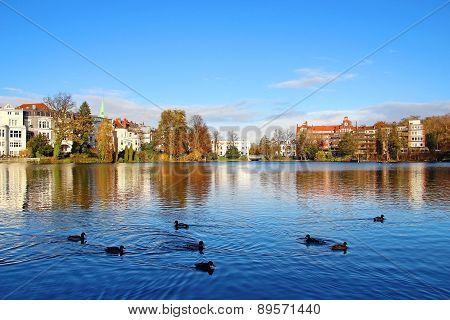 Muhlenteich, Lubeck, Germany