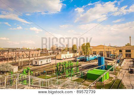The Repair Rail Station