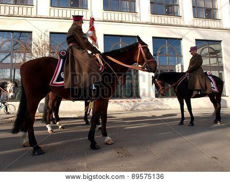 Cavalryman report.
