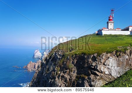 Cabo Da Roca, West Most Point Of Europe, Portugal