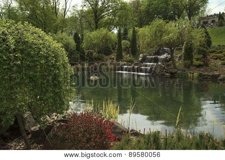 Little Lake In The Garden