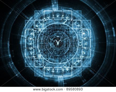Virtual Sacred Geometry