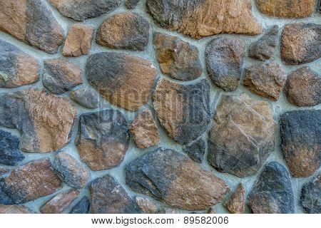 Rock Wall Closeup