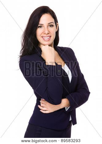 Caucasian businesswoman portrait