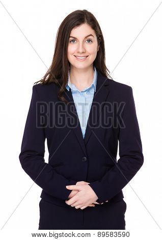Caucasian businesswoman