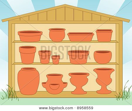 Pottery Shed