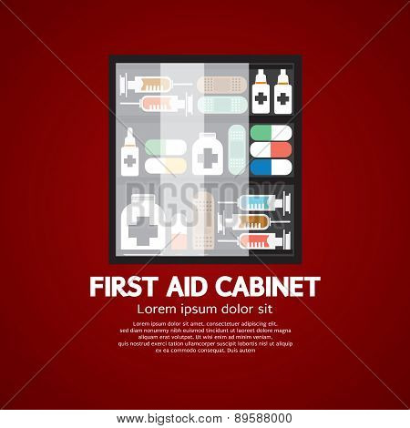 First Aid Cabinet Must Have Medicine For Home Use.