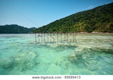Surin Island In Andaman Sea, Thailand