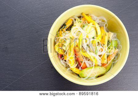 Mango And Noodle Summer Salad