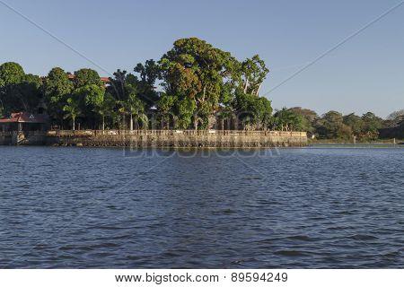 Private Island In Lake Of Nicaragua Near Granada, Nicaragua