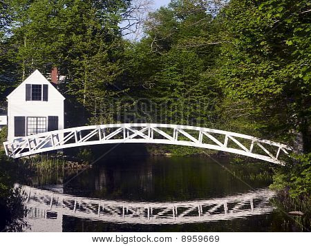 Somesville Footbridge, Maine