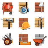 image of wheelbarrow  - Construction Work Icons - JPG