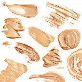 picture of foundation  - Liquid foundation isolated on the white background - JPG