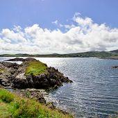 foto of ireland  - pretty view of ireland seaside - JPG