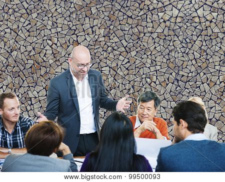 Business People Conference Meeting Discussion Concept