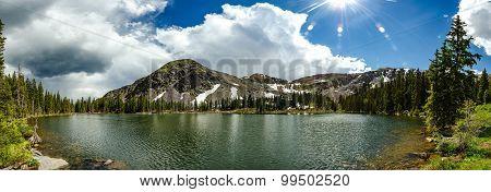 Lamphier Lake Panorama