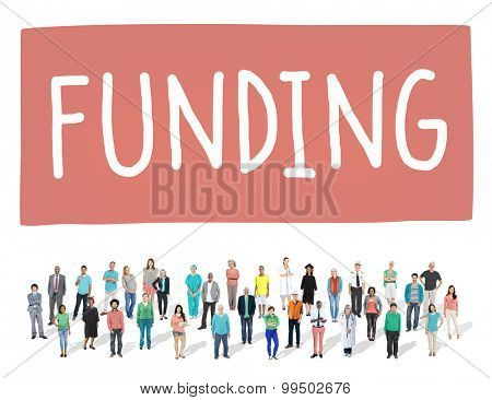 Funding Donation Investment Budget Capital Concept