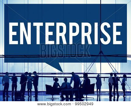 Enterprise Company Corporation Business Project Concept