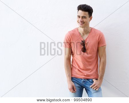 Good Looking Young Man Smiling