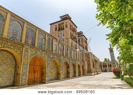 Golestan Palace exterior Edifice of the Sun