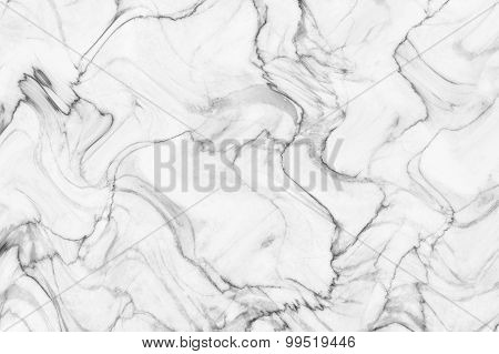 White marble patterned texture background. Marbles of Thailand, abstract natural marble black and wh