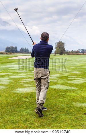 Golfer Shot