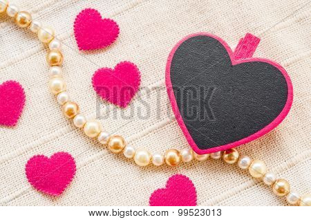 Blank Pink Heart Wooden Clamps.