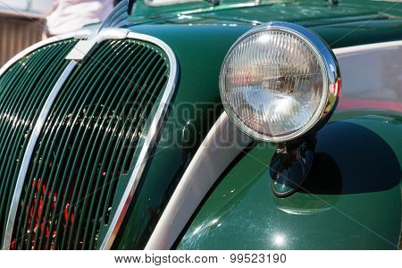 Head-light of the car