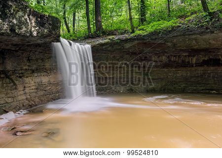 Indiana's Rock Rest Falls