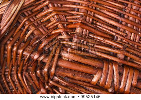 Background Wicker Basket