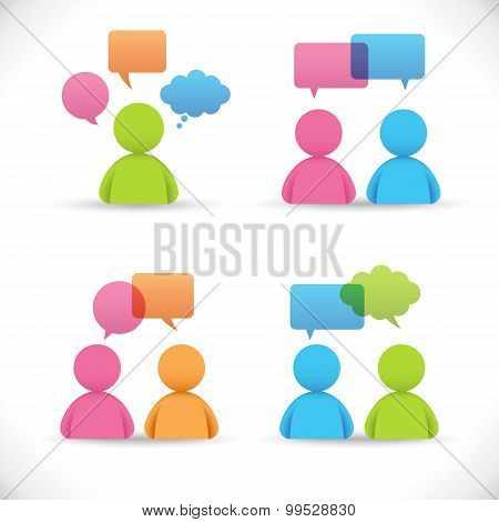 Conversations Vector