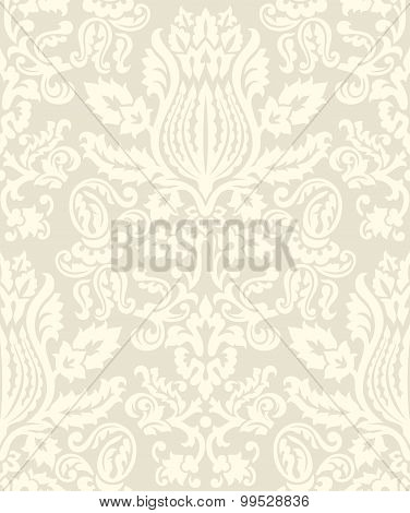 Damask Wallpaper Pattern