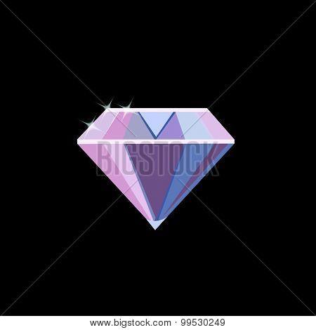 Diamond. vector design