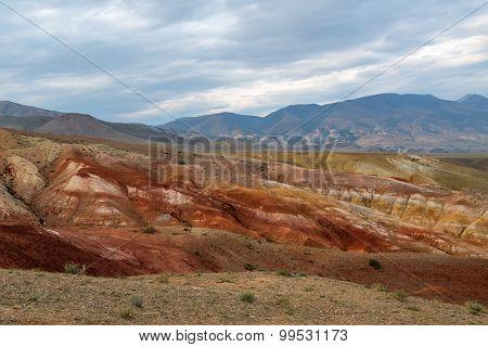 Mountains Steppe Desert Color