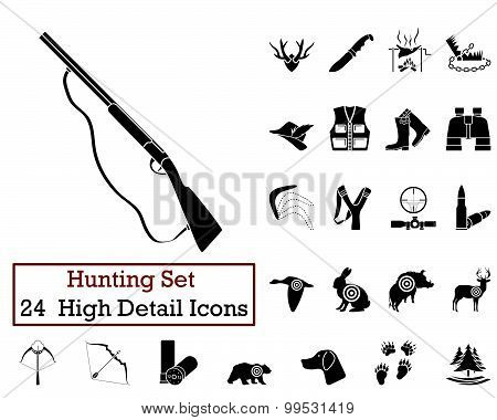 24 Hunting Icons
