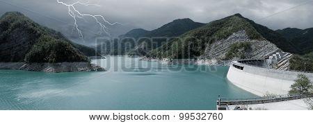 Dam With Lake