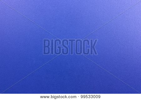 Blue Frosted Glass.