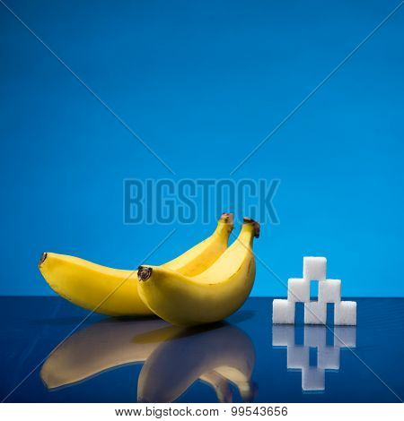Two Bananas And Sugar