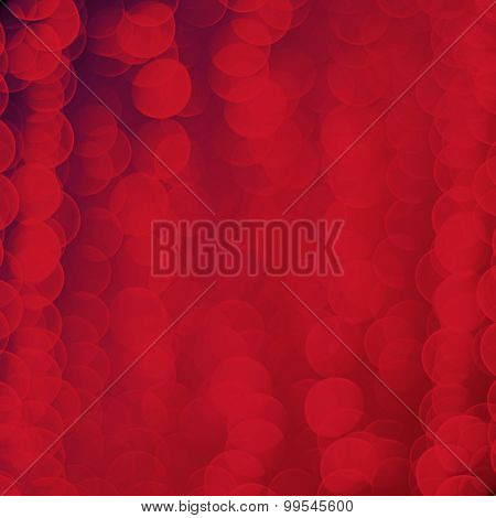 abstract red bubble background