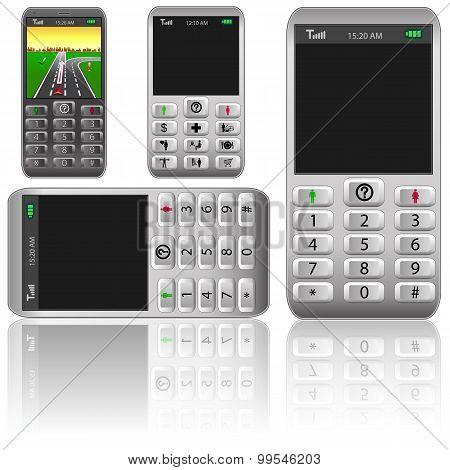 Vector Mobile Phones,original Design