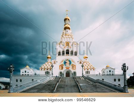 All Saints Church In Minsk, Republic of Belarus.