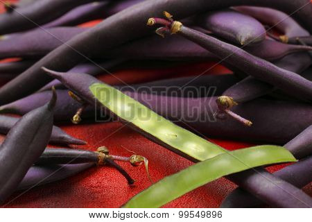 Blue French Beans (Purple Beans)