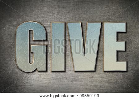 Give Word Concept