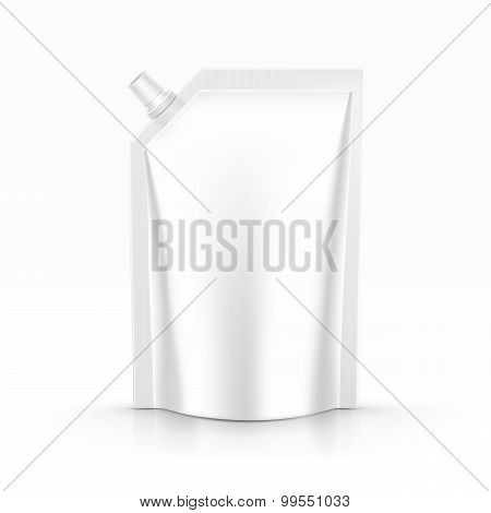 Sauce mayonnaise packaging package pack bag isolated vector
