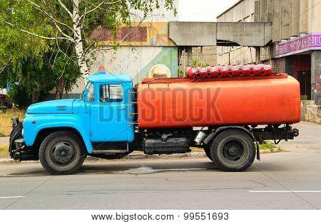 Soviet Street Sprinkle Zil-130