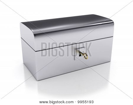 Steel Box With Key